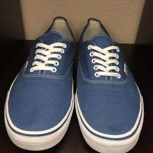 Vans Authentic Blue Size 15 men's